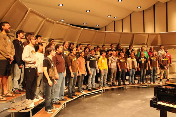 The Statesmen Men's Chorus at Rowan University